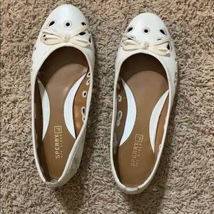 Whites Sperry flats
